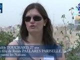 """TOUCHARD Mathilde - Petite fille de Renée PALLARES PARISELLE """"Juste parmi les Nations"""""""