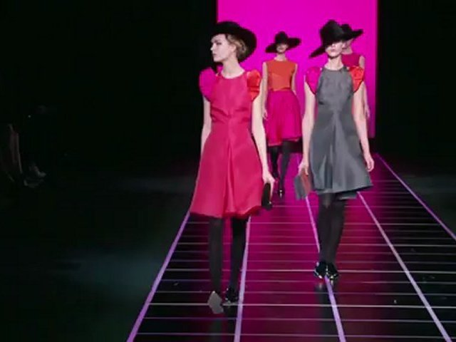 Fashion Week GIORGIO ARMANI Milan Autumn Winter 2012