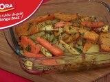 Légumes anciens rôtis à la moutarde au miel et aux épices - 750 Grammes