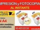Imprenta barata Barcelona. Impresión Barcelona