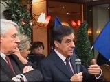 François Fillon et Claude Goasguen dans le 16e arrondissement pour soutenir Nicolas Sarkozy