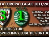 1/2 final UEL (vuelta): Athletic 3 - Sporting Clube de Portugal 1 (26/04/12)