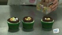 Recette de cupcakes aux oeufs de Pâques
