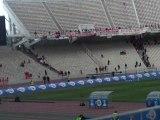 Οι πρώτοι φίλαθλοι του Ολυμπιακού μπαίνουν στο ΟΑΚΑ
