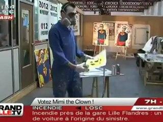 Présidentielles 2012 : votez Mimi The Clown !