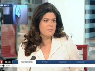Raquel Garrido face à Camille Bedin sur LCI