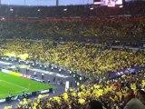 Finale Coupe de France 2012 US Quevilly - OL (0-1) entrée des joueurs