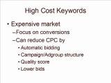 Google Adwords: Do I Remove High Cost Keywords?