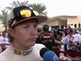 Kimi Raikkonen Post Race Interview Bahrain 2012 SkySports HD