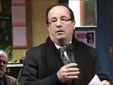 Francois Hollande et la dette publique - élection présidentielle 2012 français - sarkozy n'est pas mieux - Meeting