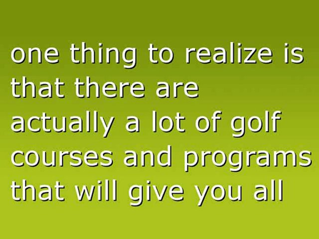 Making Your Golf Game Better!