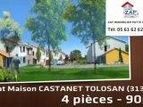 A vendre - maison - CASTANET TOLOSAN (31320) - 4 pièces - 9