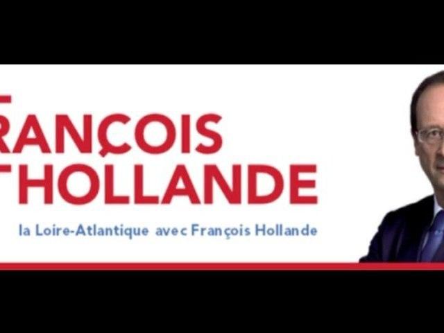 Appel à voter François Hollande 2012 par Pascal Bolo, Conseiller général, Adjoint au Maire de Nantes