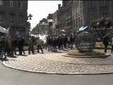 rassemblement intersyndical et défilé du 1er mai 2012 à Avranches (50)