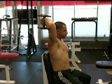 One Arm Dumbbell Tricep Extensions | Tricep Exercises