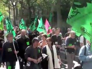 1er mai 2012 Paris début du défilé