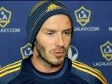 """LA Galaxy - Beckham : """"Accueillir le Real est spécial"""""""