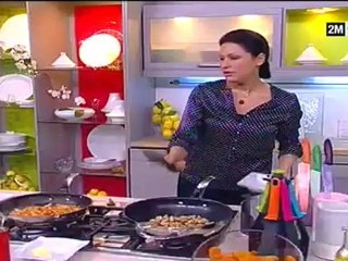 Choumicha - Pastilla au poulet et champignons