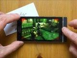 Sony Xperia S - демонстрация работы