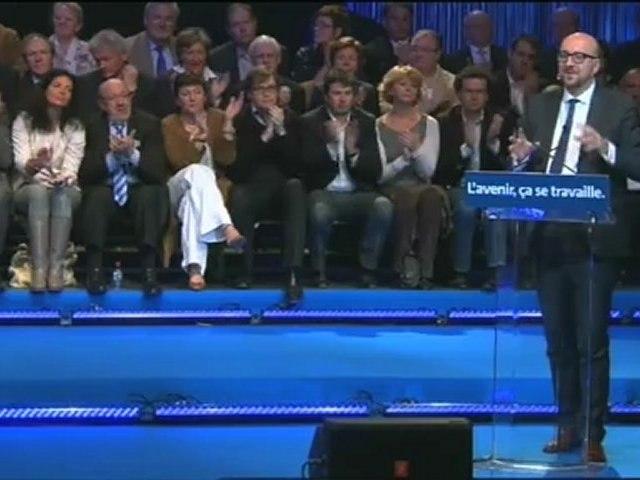 Discours intégral de Charles Michel, président du MR, lors du 1er mai 2012 à Jodoigne