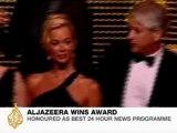 Al Jazeera wins 'Best 24 Hour News Programme' - 13-June-08