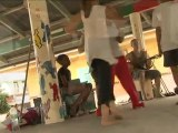 FCU2012//Atelier percussions urbaines avec la Cie Ces Temps-ci