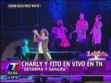 Charly Garcia y Fito Paez - Desarma y sangra (Quilmes Rock 2012 TN)