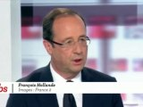 """François Hollande : """"Il n'y a rien de gagné, ni pour l'un ni pour l'autre"""""""