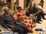 Les conseils économiques et sociaux francophones reçu par le chef de l'Etat