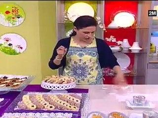 Choumicha - Petits Fours de choumicha ou Barquette fourré au Chocolat et caramel