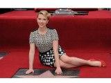Scarlett Johansson Unveils Star On Hollywood Walk Of Fame - Hollywood Hot