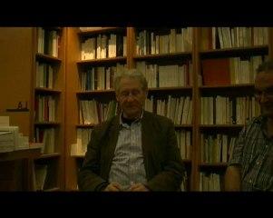 Jacques Darras - Rencontre à la librairie Tropismes