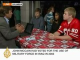 Ohio voters give views on McCain-Obama debate - 08 0ct 08