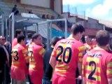 2012-04-29 Demi finale équipe réserve haie d'honneur