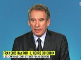 François Bayrou votera François Hollande