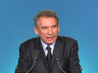 François Bayrou - Déclaration d'entre deux tours
