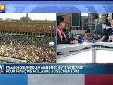 """François Hollande salue le choix """"d'homme libre"""" de François Bayrou"""