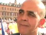 Kader Arif au meeting de Toulouse