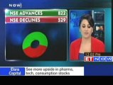 Nifty above 5200 - HUL, SAIL and HCL Tech up
