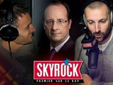 Hollande en direct sur Skyrock !