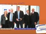 22 Février, Remise de médaille à Alain Berthe par David Douillet en présence de Gilles Dufeigneux.
