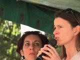Fête de la rose de Maxéville avec Aurélie Filippetti