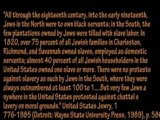 Jewish Role in the African Slave Trade