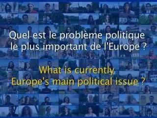 Quel est le problème politique le plus important de l'Europe ? (2/6)