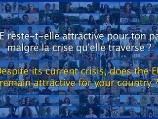 L'UE reste-t-elle attractive pour ton pays malgré la crise qu'elle traverse ? (3/6)