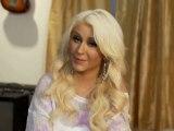 The Voice Saison 2 - Interview Before the Finale avec Christina Aguilera