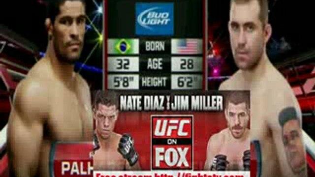 Alan Belcher vs Rousimar Palhares fight video