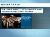 Nucléaire iranien: les dirigeants militaires israéliens jouent la carte de la tempérance — Euronews