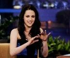 "Kristen Stewart on ""The Tonight Show with Jay Leno"" in LA"