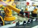 ABB IRB 540 ROBOT CONVEYOR TRACKING - PAINTING ROBOT - BOYA ROBOTU